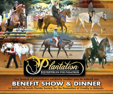 Plantation Equestrian Foundation,Benefit Show & Dinner, 8 Marzo