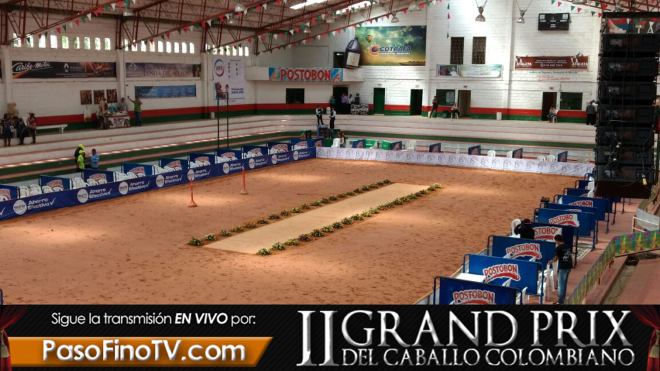 II GRAND PRIX DEL CABALLO COLOMBIANO